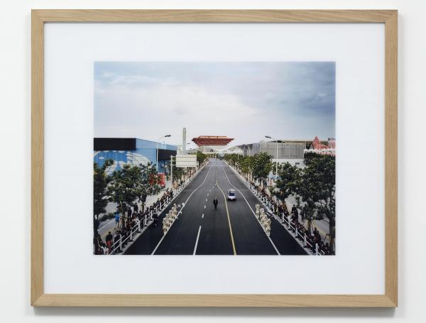 The Future of Yesterday is a photographic series about the architectural remnants of world exhibitions, often revealing an ironic contrast between the grand utopian views of times past and the urban reality of today