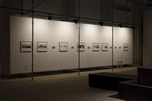 "Ives Maes has re-photographed archival images as well as his own pictures, taken in 2009 and 2013, from the ""All Union Agricultural Exhibition"". These former images are juxtaposed with new photographs taken during the build-up of the Moscow Biennial."
